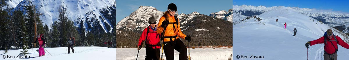 Winter Activities at Yellowstone Northern Range